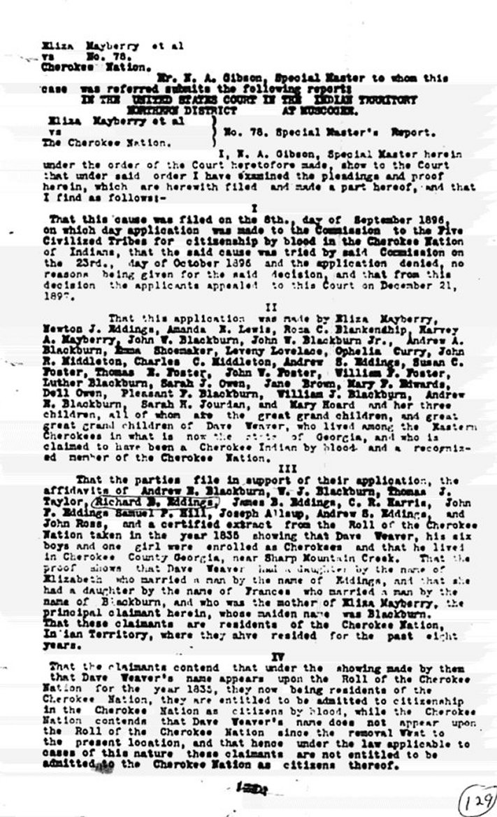 eliza blackburn mayberry letters and lawsuit letter from attorney belva a lockwood to eliza explaining difficulties with claim page 2 of letter from