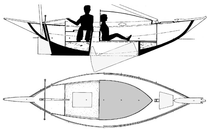 This is Dinghy mirror plans   Plan make easy to build boat