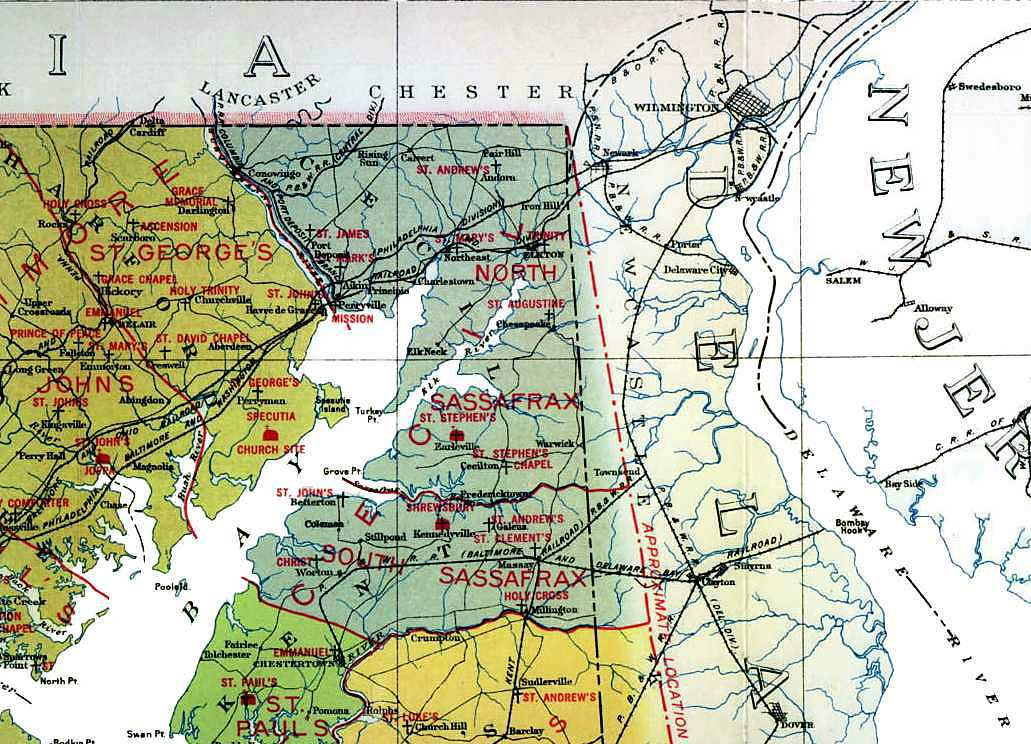 Delmarva History Online  Places  Maryland Maps And Resources