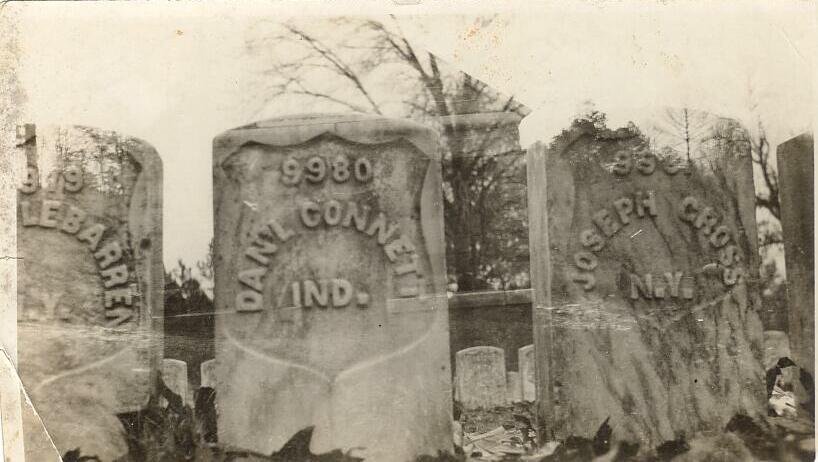 Grave of Daniel Connett