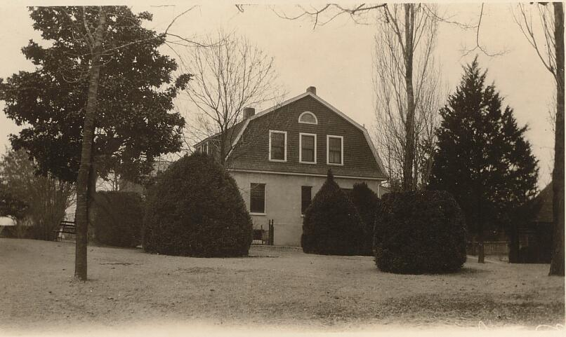 Government Building in Cemetery- Shiloh National Park Tennessee - Taken Feb. 15th 1928