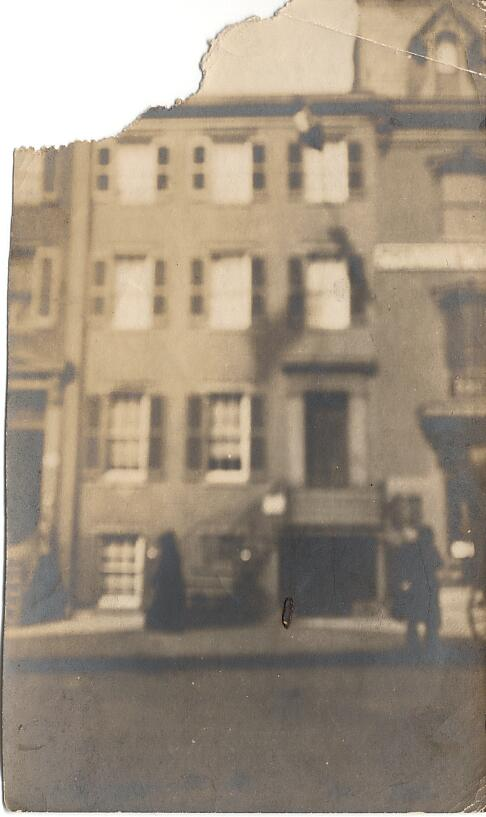 House in London - Taken June 1907