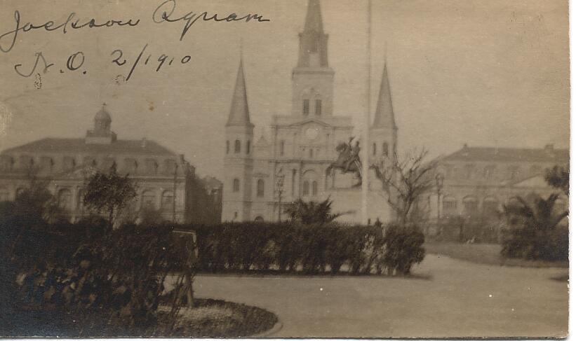 Jackson Square 1910