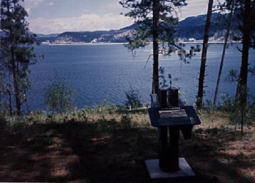 Franklin D. Roosevelt Lake - former site of Ft. Colvile