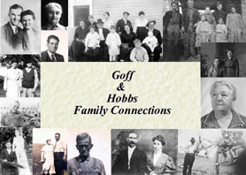 GOFF AND HOBBS FAMILY CONNECTIONS