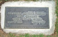 [ Grave of Stanley La Mar Hanks ]