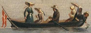 En baadtur paa Sortedamssøen