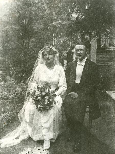 Svend og Olgas bryllup Moskva 1917