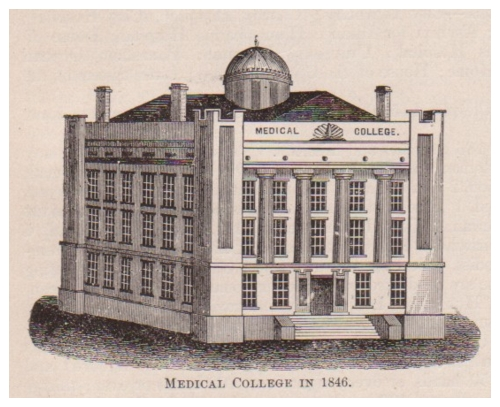 Medical College in 1846.