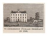 Worthington Female Seminary in 1846.