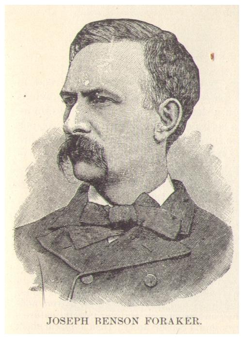 Joseph Benson Foraker.