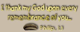 Philipians 1:3