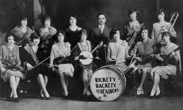 PHOTO - The Rickety Rackety Serenaders