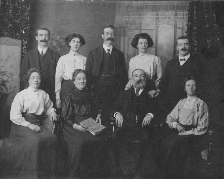 Family of Charles Johnston and Isabel Johnston nee Christie