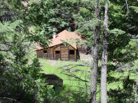 Log Home at Crossons, CO