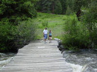 Bridge at Crossons, CO.
