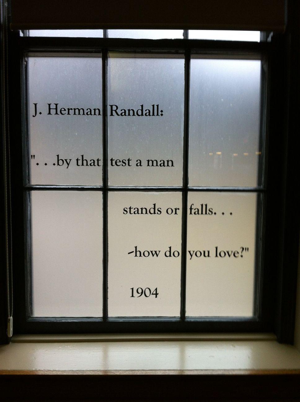 John Herman Randall Sr