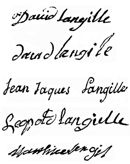 5 Langille Signatures