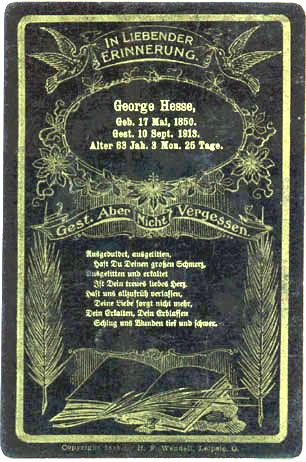George Hesse