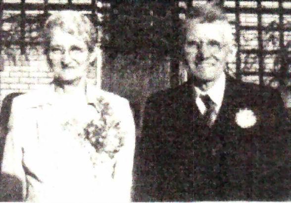 Bessie Belle (Schafer) and Clark Monroe Adams