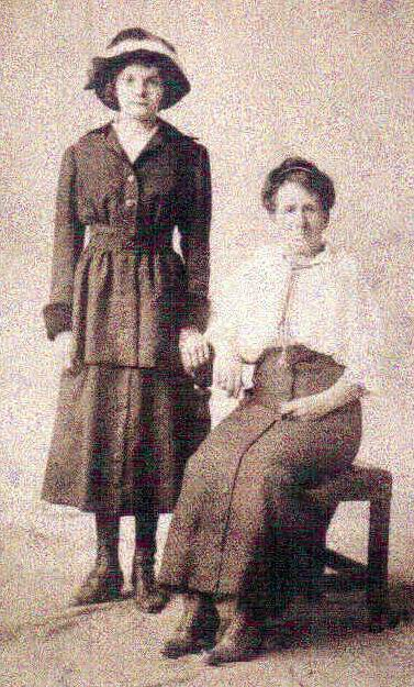 Margaret (Adams) and Bessie (Spangler) Aites