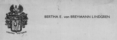 von Breyman family Crest
