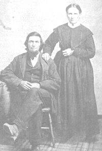 Joseph Britton and Mary Hyle Carvell, father and step-mother of Jeremiah Mark Carvell