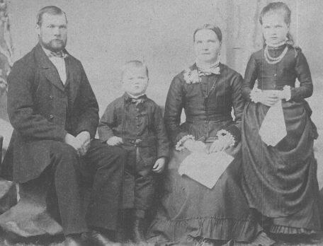 Lindgren Family, circa 1888