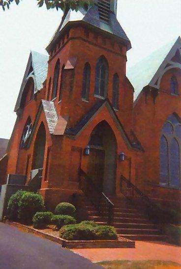 Pitts Creek Presbyterian Church. 'A MaKemie Church.' Pocomoke City, MD, 07-08-2002.