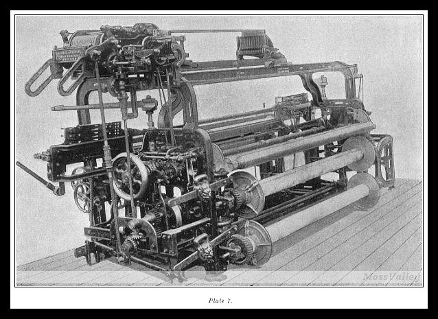 power loom is the invention of which century