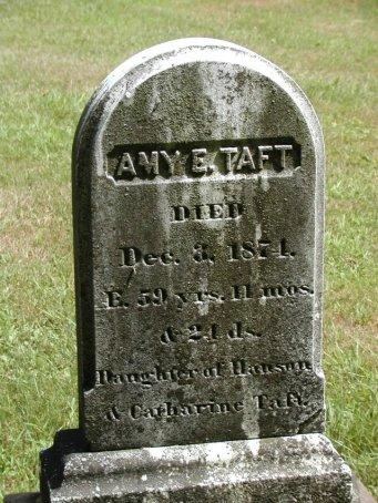 Amy Elizabeth Taft