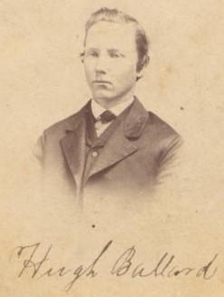 Hugh Ballard (1849--1917)<br> Printed on back: ``Knights Arcade Art Gallery, Marshalltown, Iowa. Wm. H. & L. J. Elliott, Proprietors''