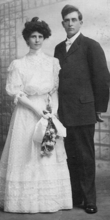 Cornelia Cuddy and George Foley, wed June 16, 1908