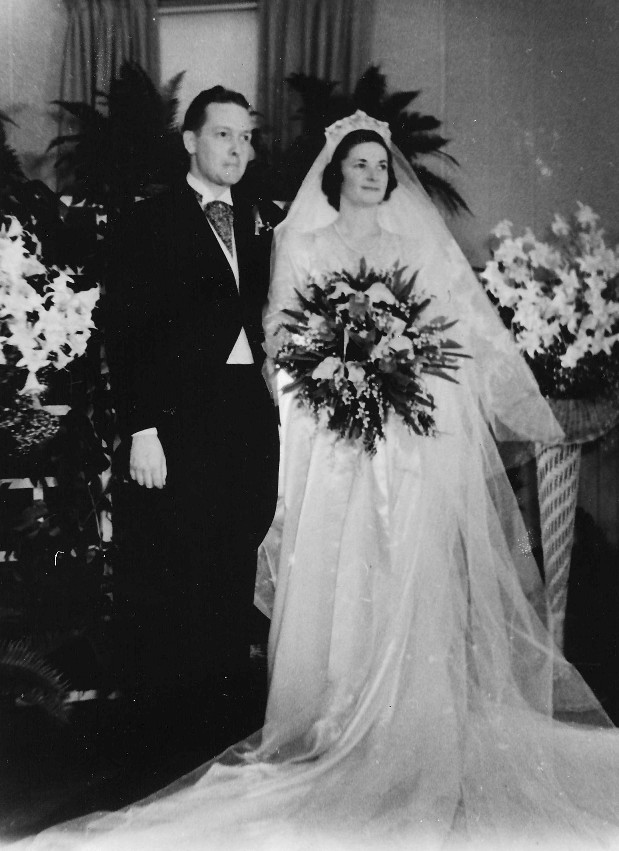 Justin Donegan and Catherine Walsh, married June 17, 1939, Burlington,Iowa