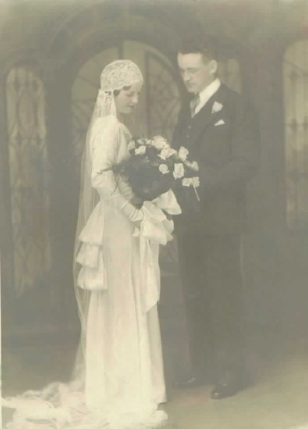 Grace Connell and Lewis Shannon, married June 12, 1933
