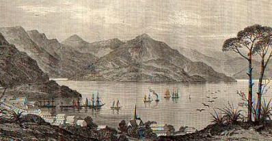Port Lyttelton, N.Z. 1863