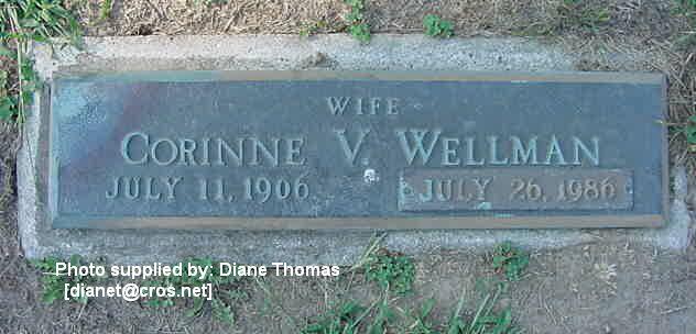 Wellman, Corinne V Streng ...