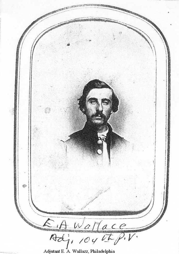 Adjutant E. A. Wallazz, Philadelphia