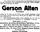 1915 - Gerson Alten - obituary