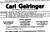 1933 - Carl Geiringer - obituary