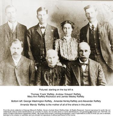 Raffety Family Portrait 1800s