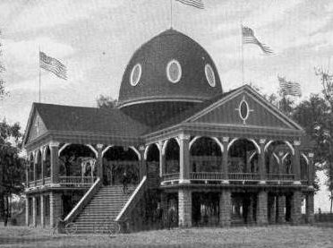 Pavilion at Pine Grove Park Port Huron, Michigan