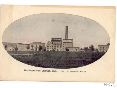 Another View of Michigan Sugar Company Croswell, Michigan