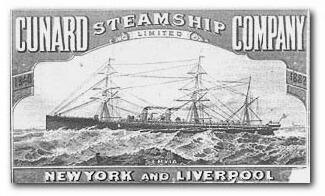 Cunard ad
