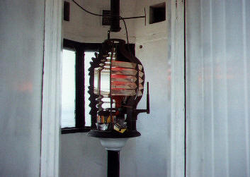 The Light in the Fort George Lighthouse