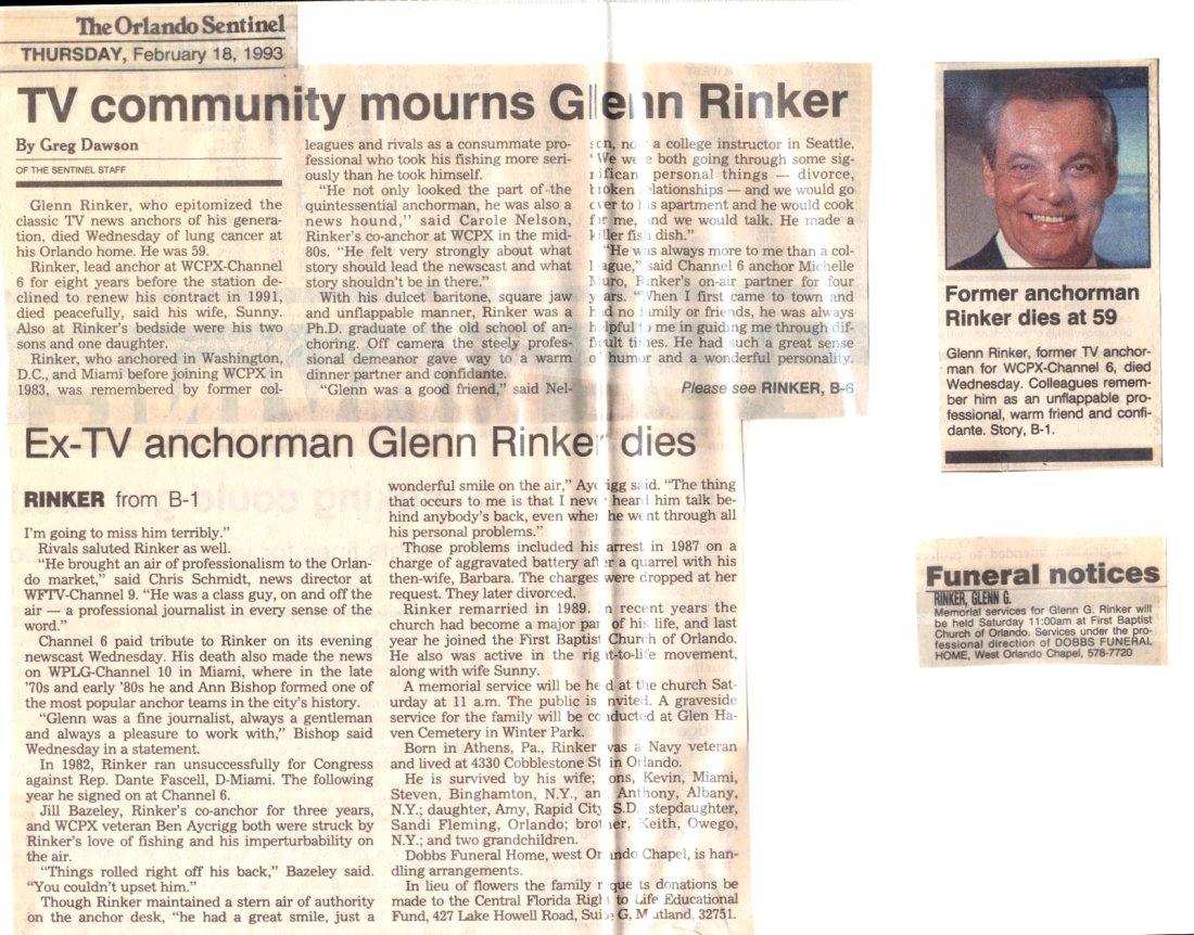 Glenn Rinker Anchorman