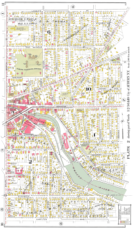 New york cayuga county - Auburn Downtown East 1 5x