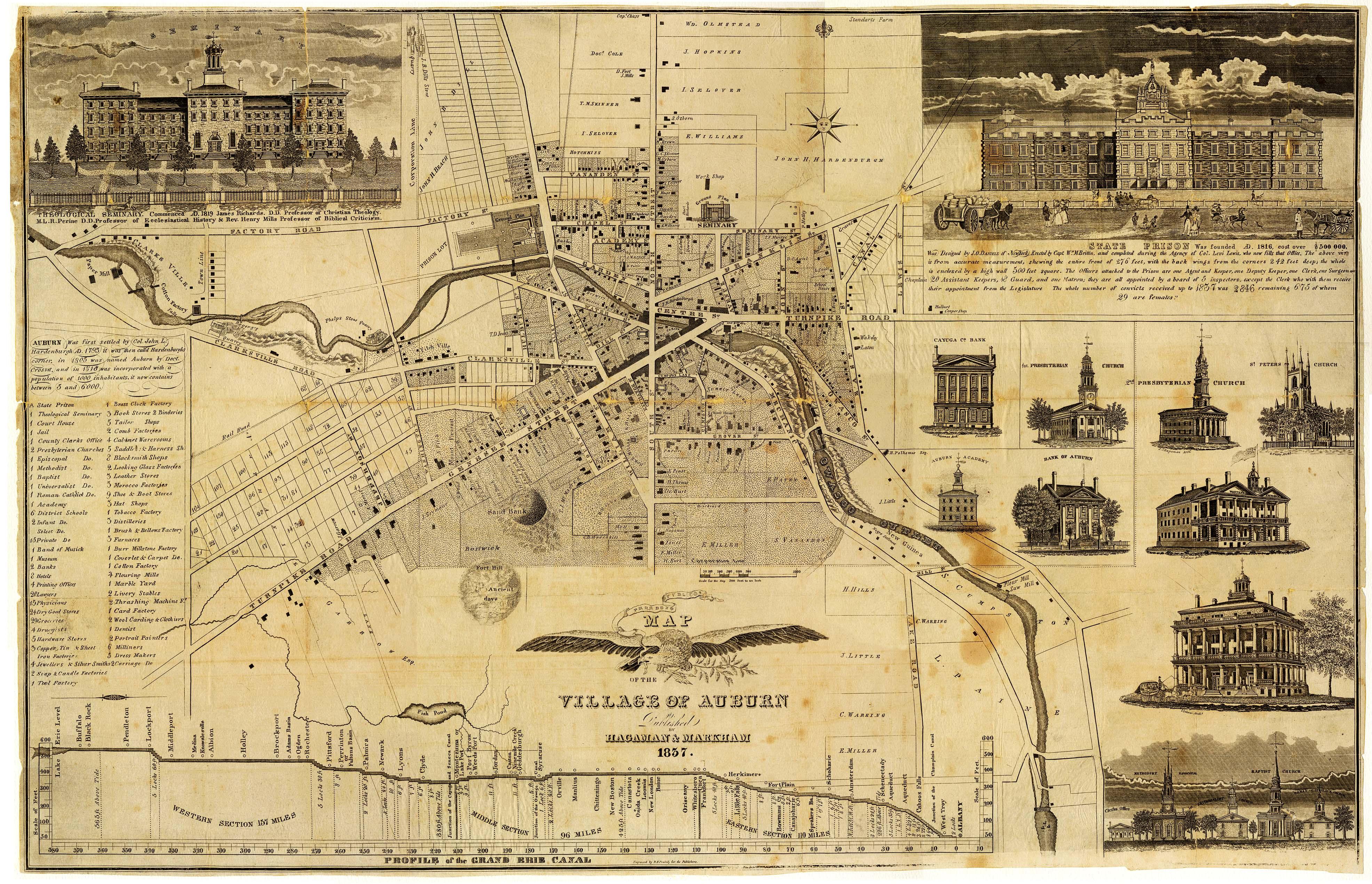 1837 Auburn Ny Map