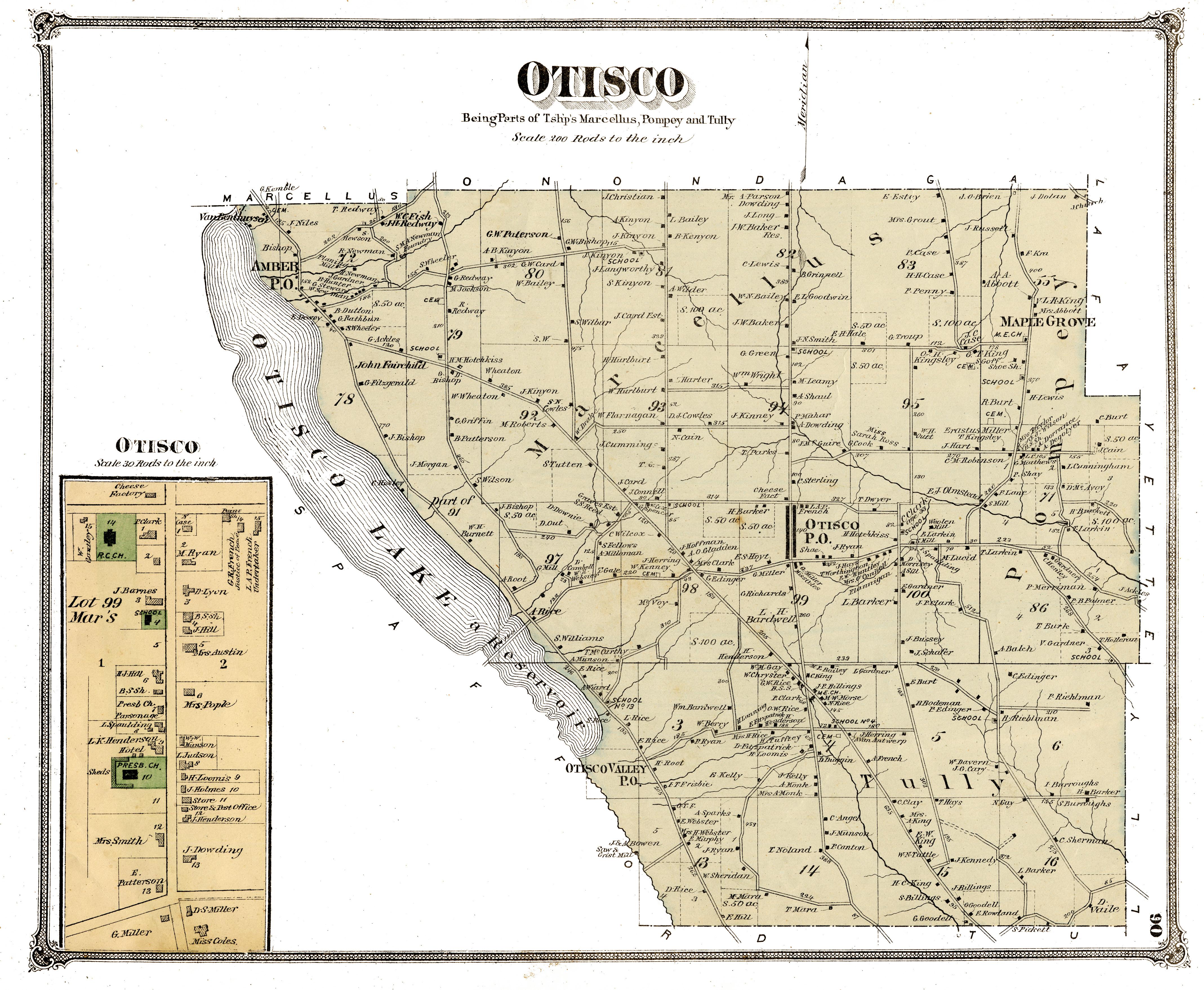 90, Otisco Townotisco town