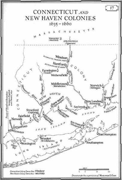 Connecticut 1636